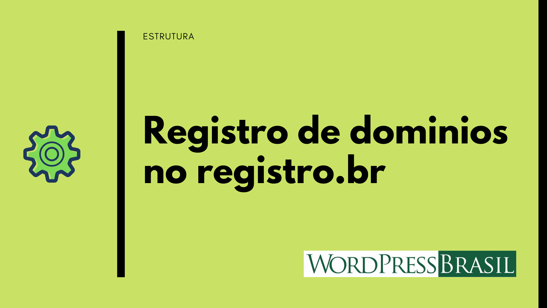 Registrando site WordPress no registro.br